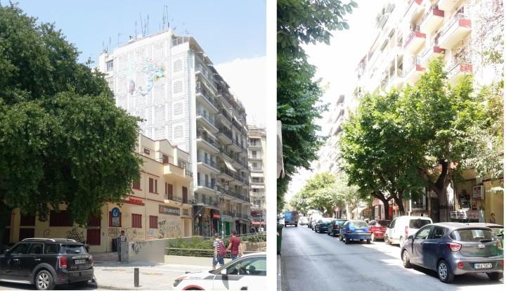View of Al. Svolou Street